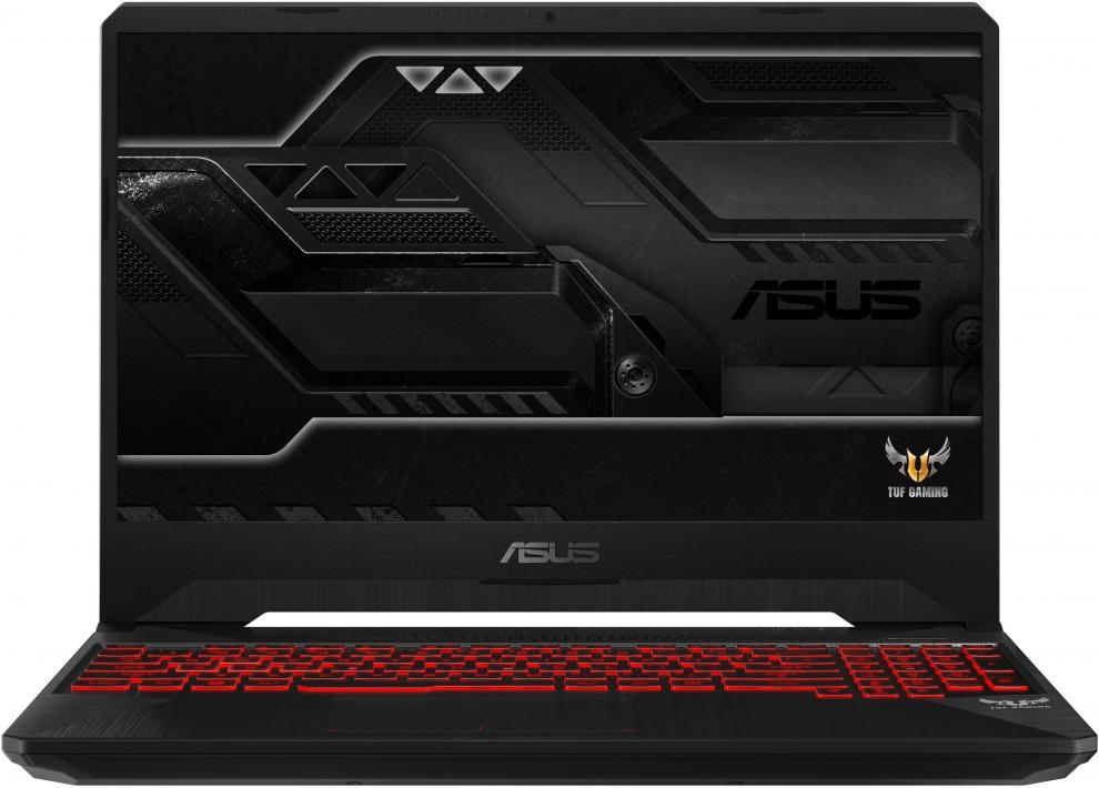 "UPGRADED ASUS TUF Gaming FX505GE-BQ132 (90NR00S2-M04510) 15.6"" FHD IPS, i7-8750H, 16GB RAM, 256GB SSD, 1TB HDD, GTX 1050Ti, Черен"