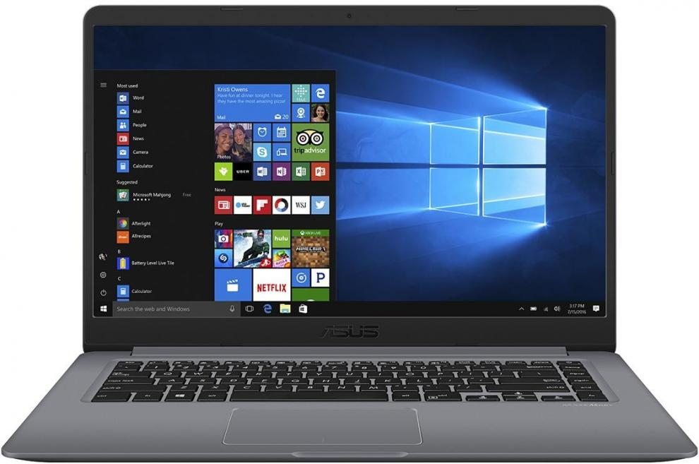 "UPGRADED ASUS VivoBook 15 X510UF-EJ346 (90NB0IK2-M06100) 15.6"" FHD, i3-8130U, 16 GB, 240 GB SSD, 1TB, GF MX130, Сив, Win10"