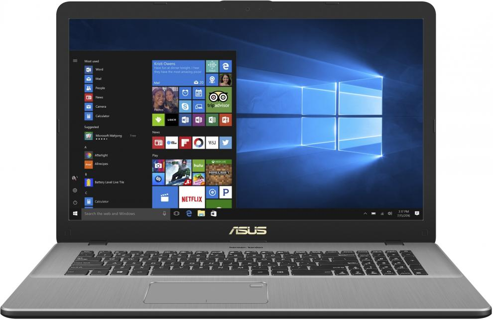 "UPGRADED ASUS VivoBook Pro 17 N705FN-GC043 (90NB0JP1-M00620) 17.3"" FHD, i5-8265U,12 GB, 1TB, nVidia MX150 2GB, Win10"