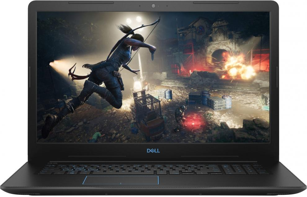 "UPGRADED Dell G3 3779 | 17.3"" FHD IPS, i5-8300H, 12 GB, 128GB SSD, 1TB HDD, GTX 1050Ti, Черен, Win10 Pro"