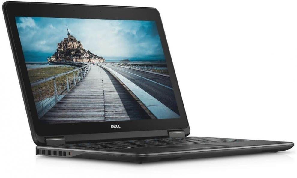 "Dell Latitude E7240, 12.5"" 1366X768, i7-4600U, 8GB RAM, 480GB SSD, Cam, Win 10"