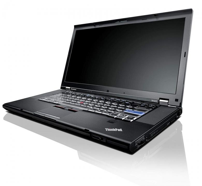 "Lenovo ThinkPad W520, 15.6"" FHD 1920x1080, i7-2720QM, 8GB RAM, 1TB HDD, Q1000 2GB, Cam, Win 10 Pro"