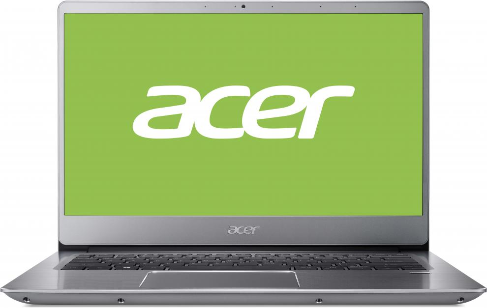 "UPGRADED Acer Swift 3 SF314-56G-59RF | NX.H4MEX.001 | 14.0"" IPS FHD, i5-8265U, 8GB, 1TB, 256 GB SSD, GeForce MX150, Сребрист, Win10"