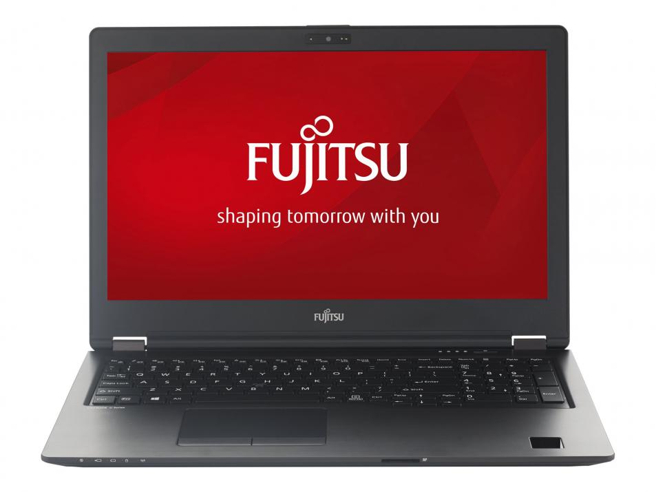 "UPGRADED Лаптоп Fujitsu Lifebook U758 15.6"" FHD, i7-8550U, 16GB RAM, 256GB SSD, Windows 10 Pro, Черен U7580M37SBRO"
