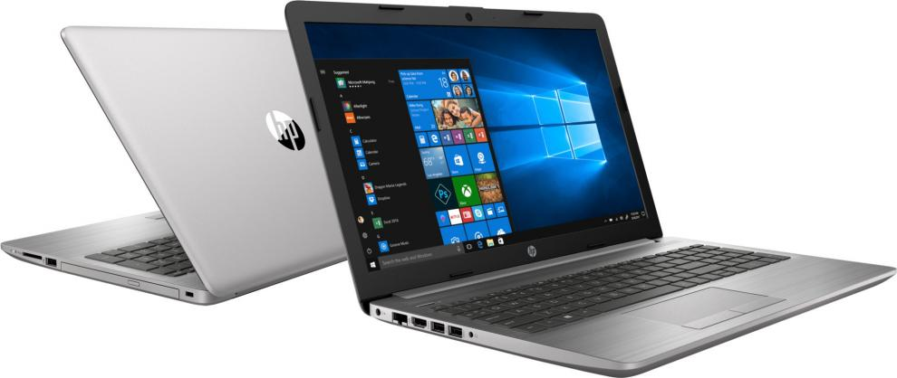 "UPGRADED Лаптоп HP 250 G7 (6BP40EA), 15.6"" FHD, i3-7020U, 8GB RAM, 500 GB HDD, Сребрист"