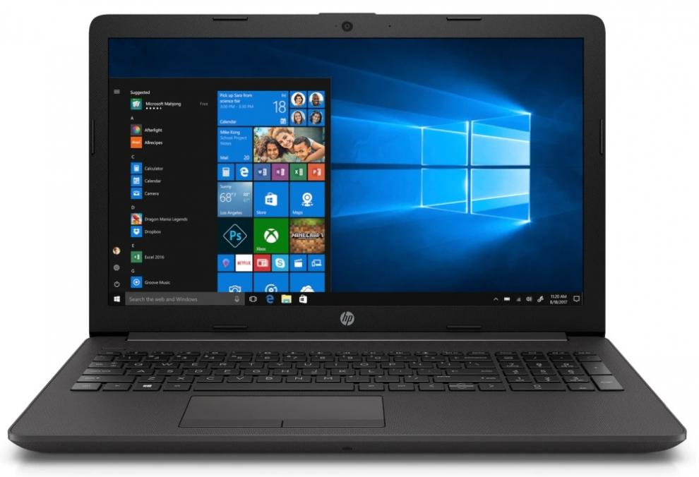 "UPGRADED Лаптоп HP 250 G7 (6MP84EA), 15.6"" FHD, i5-8265U, 16 GB, 256 GB SSD , 1TB HDD, GeForce MX110, Сребрист, Win10 Pro"