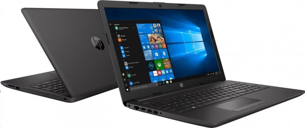 "UPGRADED Лаптоп HP 250 G7 (6MP84EA), 15.6"" FHD, i5-8265U, 8GB, 240 GB SSD , 1TB HDD, GeForce MX110, Сребрист, Win10"