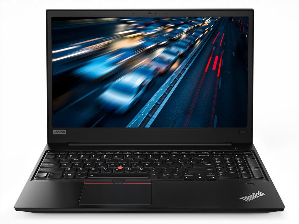 "UPGRADED Лаптоп Lenovo ThinkPad Edge E580 (20KS008FBM_5WS0G91531) 15.6"" HD, i3-8130U, 8GB RAM, 256GB SSD, 500GB HDD, Win 10, Черен"
