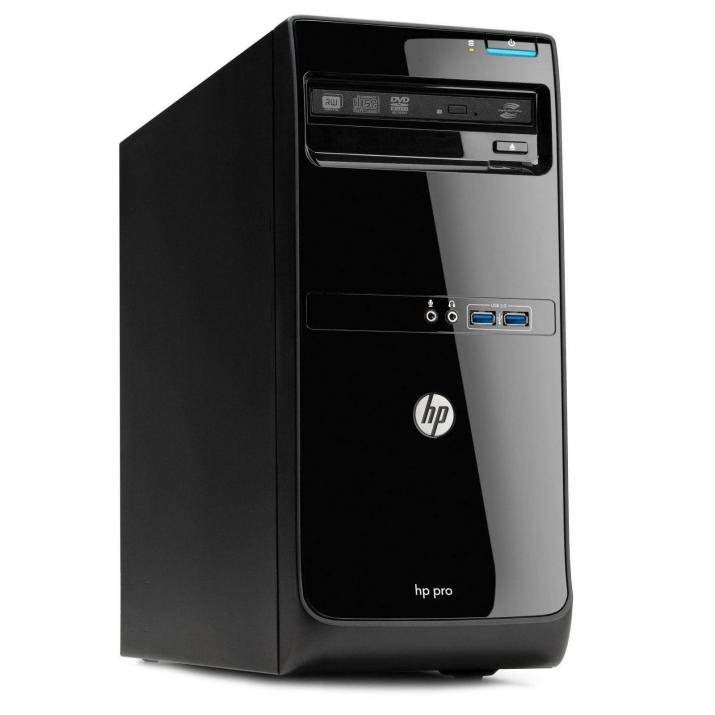 HP Pro 3500 Microtower | i5-3470, 4GB, 120GB SSD, 500GB, DVD-RW