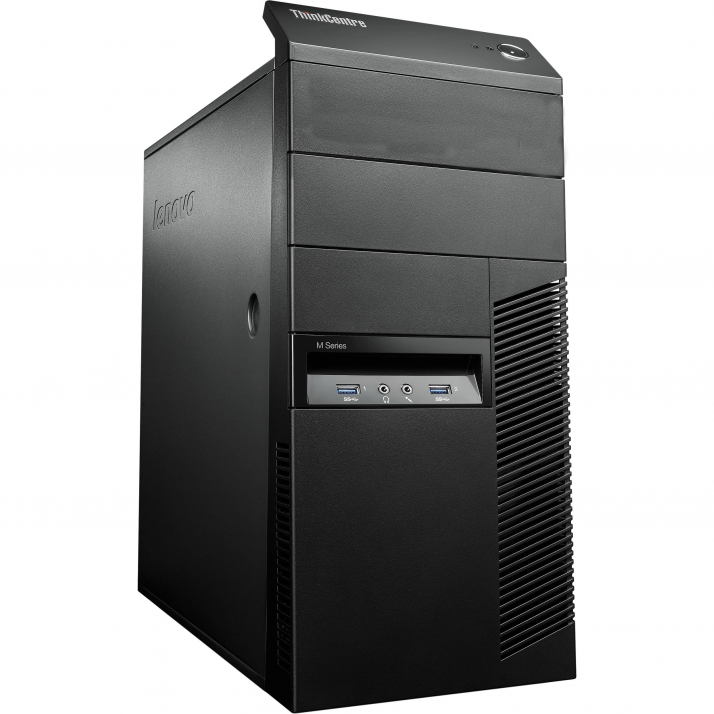 Lenovo ThinkCentre M83 Tower | i5-4570, 16GB RAM, 500GB HDD, GT 1030, Win 10 Pro