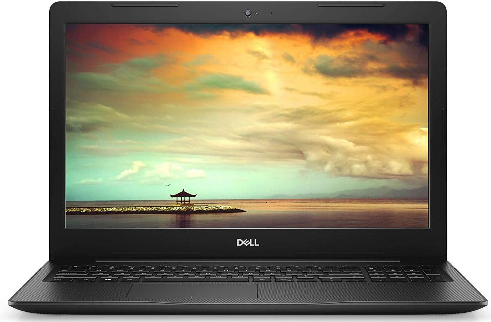 "Лаптоп Dell Inspiron 3584 (2019), 15.6"" FHD, i3-7020U, 4GB, 1TB HDD, Radeon 520 + Win 10 + Canon PIXMA MG2550S All-In-One"