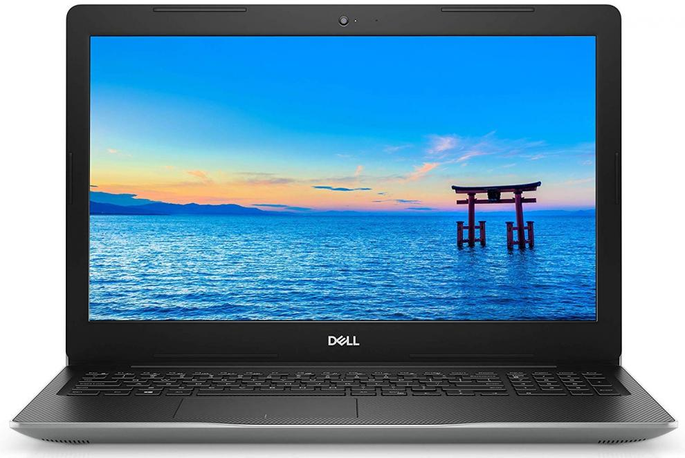 "Лаптоп Dell Inspiron 3584 (2019), 15.6"" FHD, i3-7020U, 4GB, 1TB HDD, Сребрист + Canon PIXMA MG2550S"