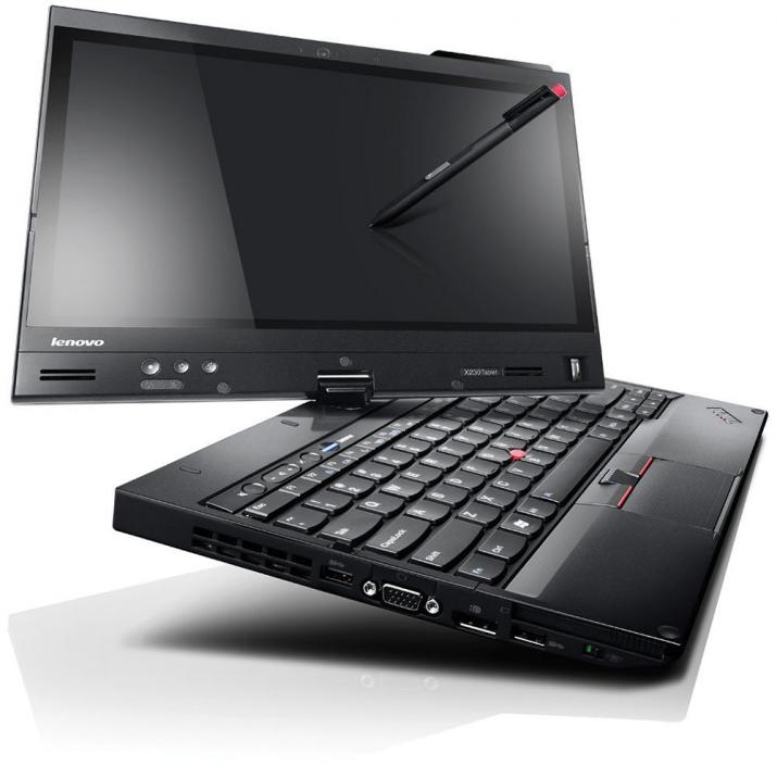 "UPGRADED Lenovo ThinkPad X230, 12.5"" Touch HD 1366x768 IPS, i5-3320M, 4GB, 320GB, Черен"