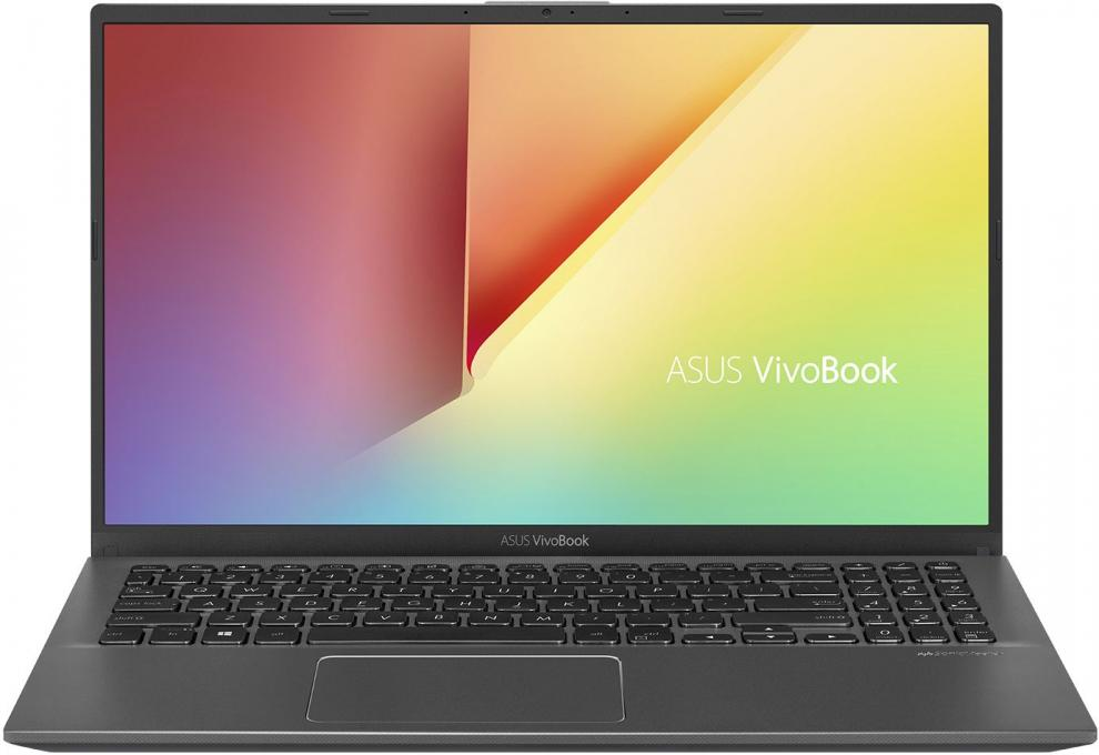 "UPGRADED Asus VivoBook 15 X512DA-EJ123, 15.6"" FHD, Ryzen 3 2300U, 12 GB, 512GB SSD, Сив 