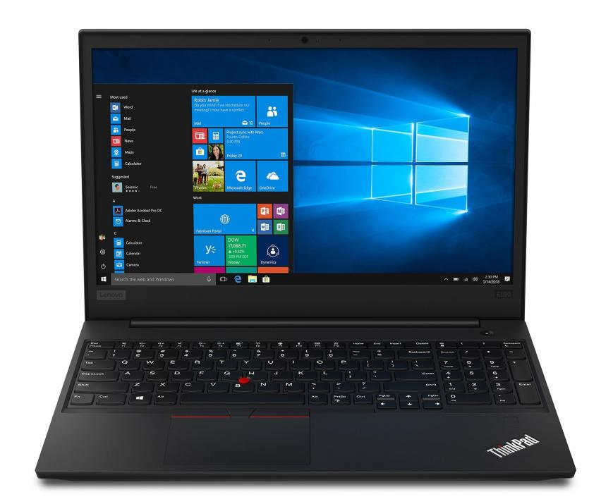 "UPGRADED Lenovo ThinkPad Edge E595, 15.6"" FHD(1920x1080), Ryzen 5 3500U, 12 GB, 256GB SSD, Win 10 Pro 