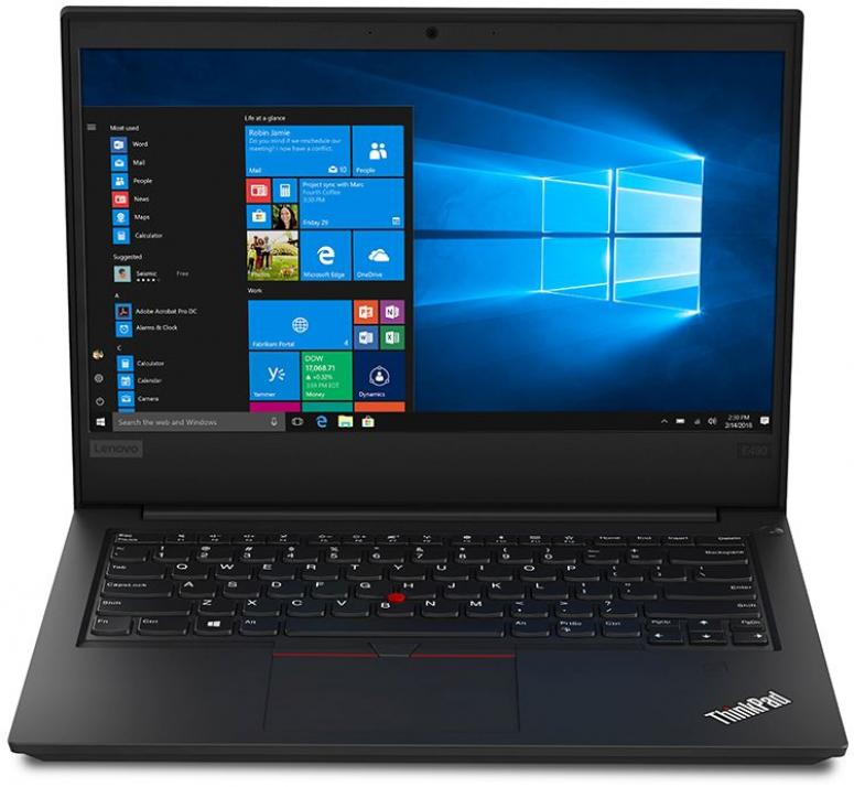 "UPGRADED Лаптоп Lenovo ThinkPad Edge E490 14"" FHD IPS, i5-8265U, 8GB RAM, 1 TB SSD, Win 10 Pro, Черен 20N8007SBM"
