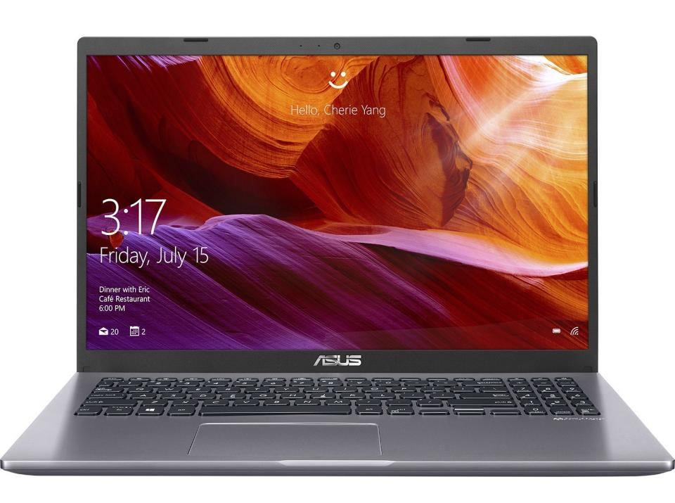 "UPGRADED Лаптоп Asus X509FB-EJ024, 15.6"" FHD, i5-8265U, 8GB, 512 GB SSD, Сив 