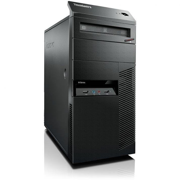 UPGRADED Lenovo ThinkCentre M92p Tower i7-3770, 8GB, 500GB, 120 GB SSD, Нова nVidia GeForce GTX 1050Ti, DDR5 - 4 GB с 2 години гаранция