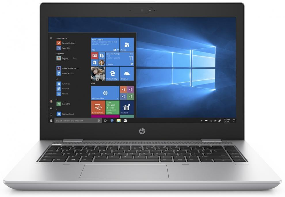 "UPGRADED Лаптоп HP ProBook 640 G4 (2GL98AV_70440437) 14"" FHD UWVA, i5-8250U, 12 GB, 500GB, 1 TB SSD, Win 10 Pro, Сребрист"
