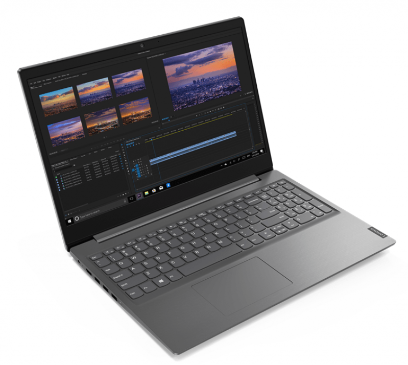 "UPGRADED Lenovo V15 15.6"" FHD, i5-1035G1, 8GB, 512 GB SSD, Сив 