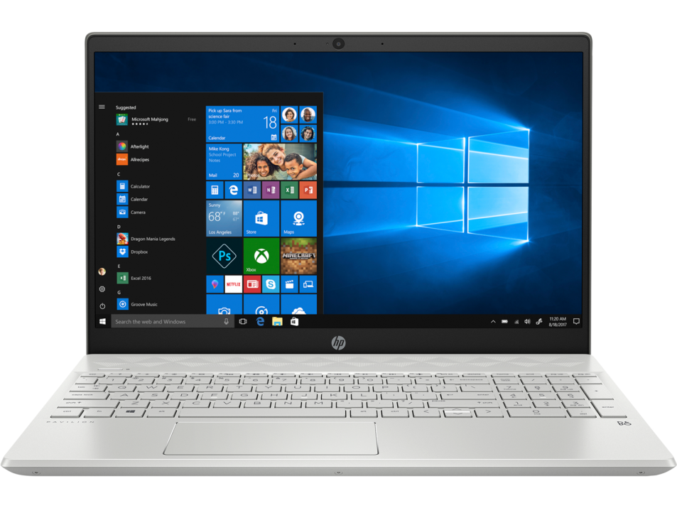 "UPGRADED HP Pavilion 15-cs3037nu 15.6"" FHD, i7-1065G7, 12 GB, 1TB, 1 TB SSD, MX250 4GB, Сребрист 