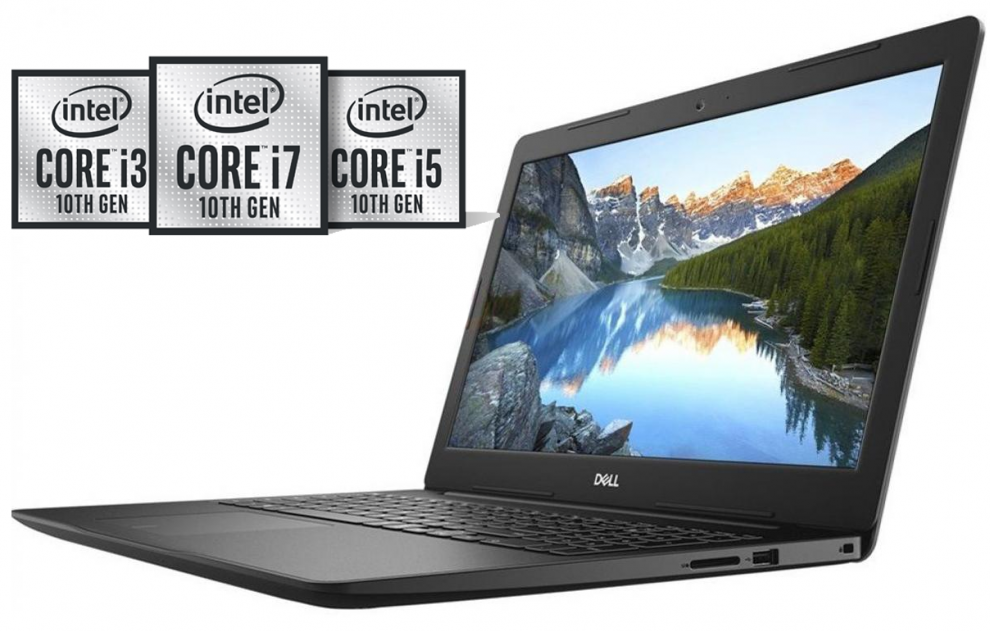 "UPGRADED Dell Inspiron 3593, 15.6"" FHD, i7-1065G7, 12 GB, 1 TB SSD, MX230 2GB, Сребрист 
