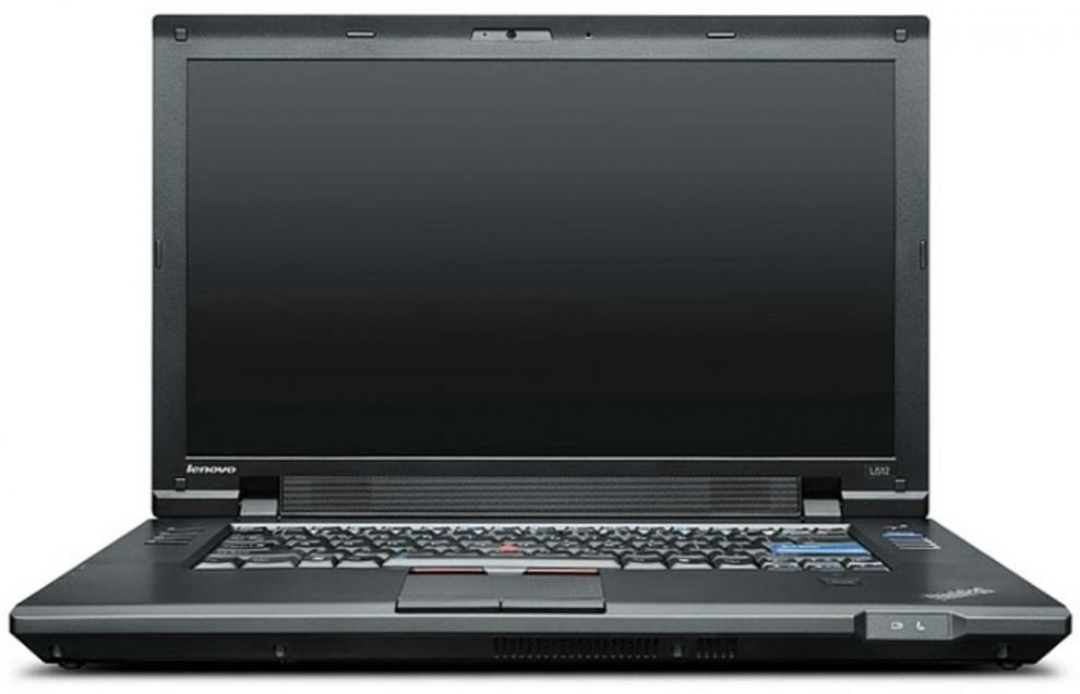 "UPGRADED Lenovo ThinkPad L512, 15.6"" 1366x768, i3-330M, 4GB RAM, 480 GB SSD, Cam, Win10"