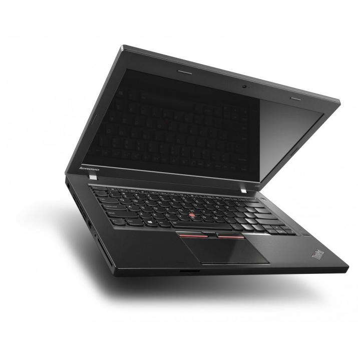"UPGRADED Lenovo ThinkPad L460, втора ръка, 14.0"" HD 1920x1080, i5-6200U, 8GB, 256GB SSD, Cam, Черен, Win10 1"
