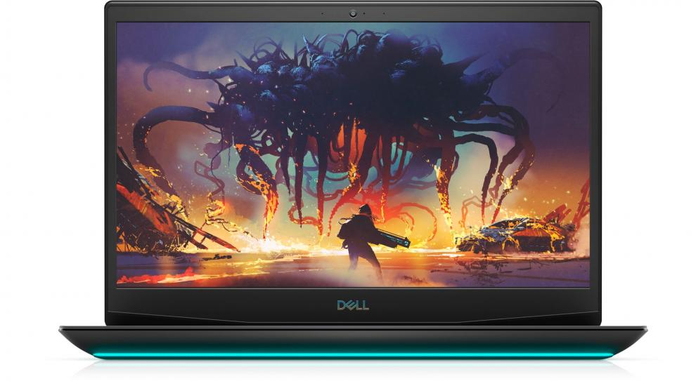 "Dell Inspiron Gaming G5 5500, 15.6"" FHD, i7-10750H, 8GB, 512GB SSD, GTX 1660 Ti 6 GB, Win10, Black 1"