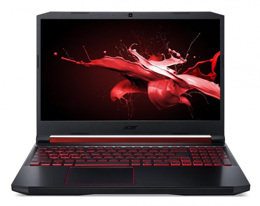 "UPGRADED Acer Aspire Nitro 5 AN515-54-77Z3, 15.6"" FHD IPS, i7-9750H, 32 GB, 512GB SSD, GTX 1650, Черен 