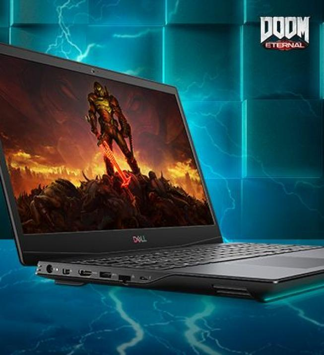 "Dell Inspiron Gaming G5 5500, 15.6"" FHD, i7-10750H, 8GB, 512GB SSD, GTX 1660 Ti 6 GB, Win10, Black"