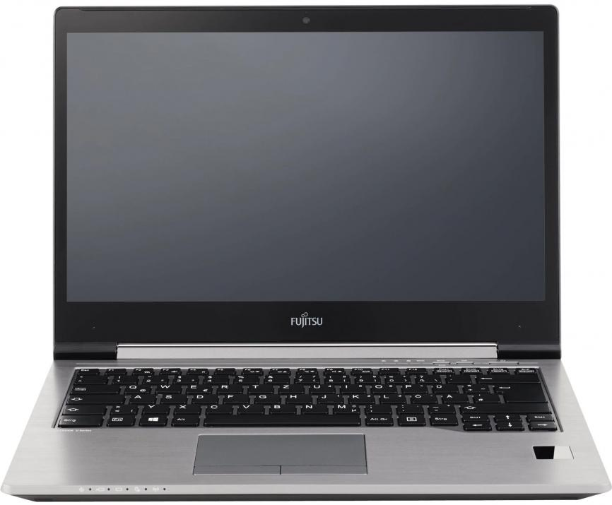 "UPGRADED Ultrabook Fujitsu Lifebook U745, 14.0"" HD+ (1600х900), i5-5200U, 8GB RAM, 240GB SSD, Камера, Сив, Win10 1"