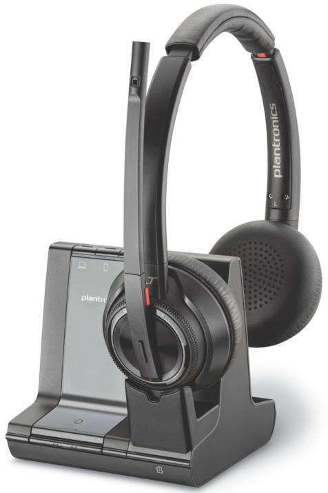 DECT слушалки Plantronics SAVI W8220 3IN1 MS Stereo | 207326-02 1