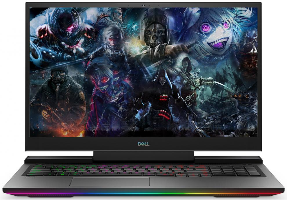 "UPGRADED Dell G7 7700, 17.3"" FHD (1920x1080) 144Hz, i7-10750H, 16GB, 1 TB SSD, RTX 2060 6GB, Backlit Keyboard, Win 10 Pro, Black 1"