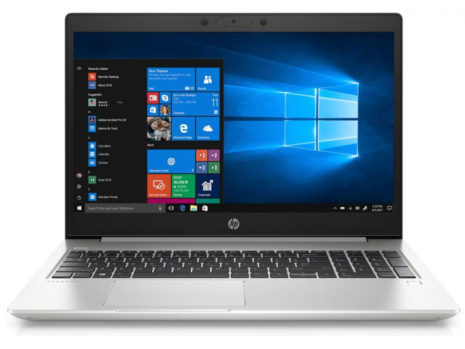"UPGRADED HP ProBook 450 G7, 15.6"" FHD, i7-10510U, 8GB, 256GB SSD, UMA Graphics, Сребрист, Win10 1"