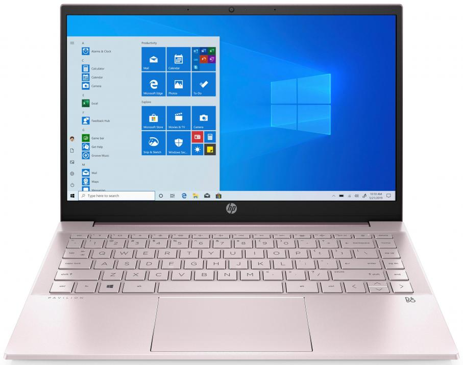 "UPGRADED HP Pavilion 14, 14"" FHD IPS, i3-1115G4, 16GB, 512 GB SSD, Serene Pink, Win10"