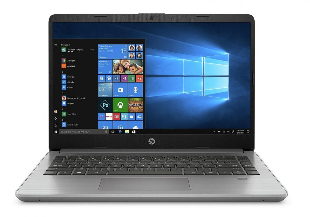 "UPGRADED HP 340S G7, 14"" FHD, i5-1035G1, 12 GB, 1 TB SSD, Сребрист 