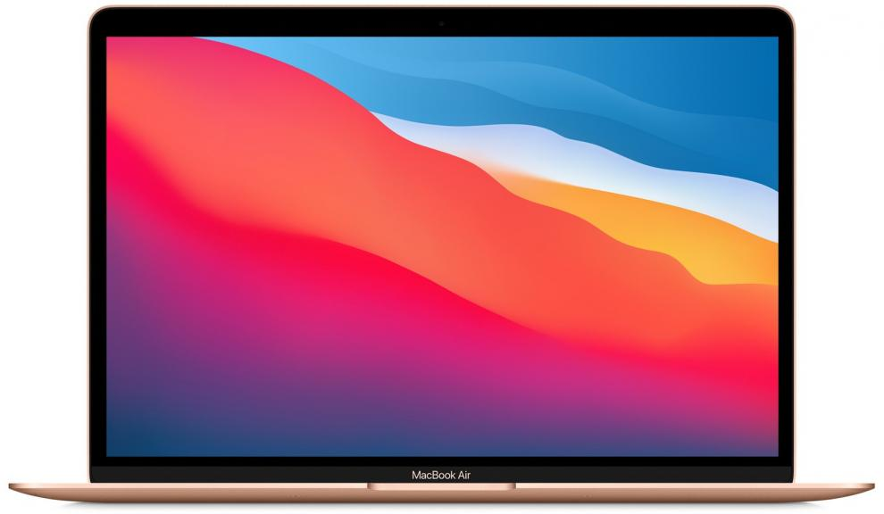 "Apple MacBook Air 13.3"" (2560x1600) IPS, Apple M1 (8 Core), 8GB, 256GB SSD, Gold 