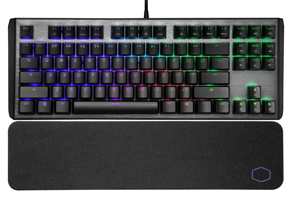 Геймърска механична клавиатура Cooler Master CK530 V2 TKL RGB Blue swithces | CM-KEY-CK-530-GKTL1-US 1