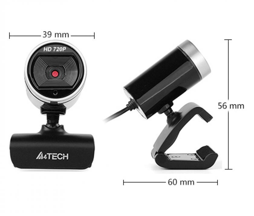 Web камера A4Tech PK-910H, Full-HD, USB, микрофон | A4-CAM-PK-910P