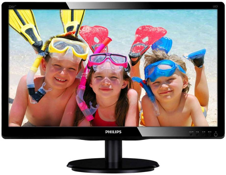 "Монитор Philips  21.5"" Slim LED, 226V4LAB"