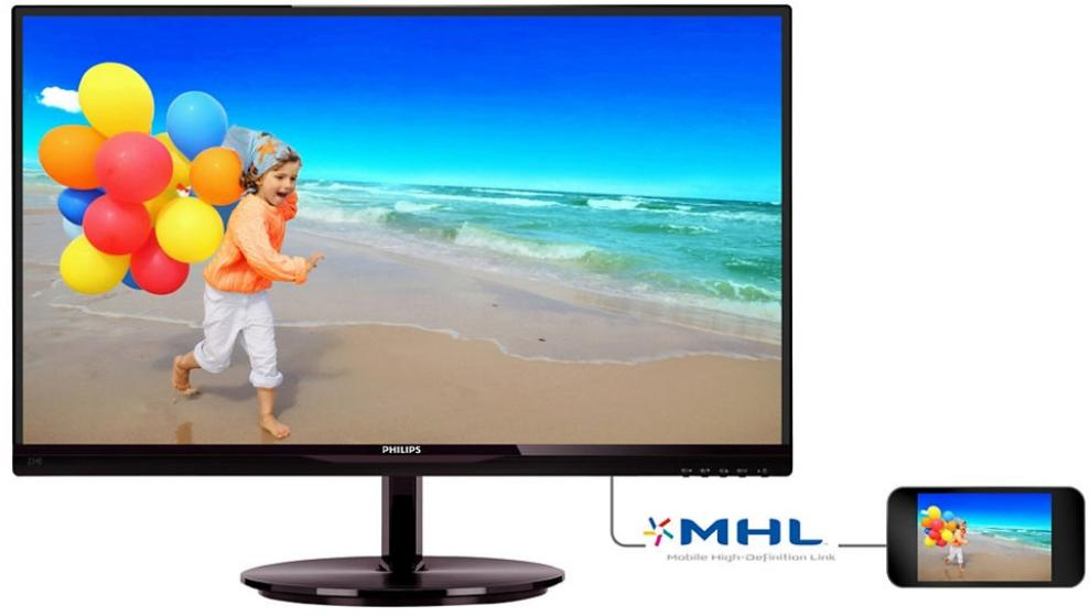 "Монитор Philips 234E5QDAB 23"" IPS LED, Full HD 1920 x 1080 1"