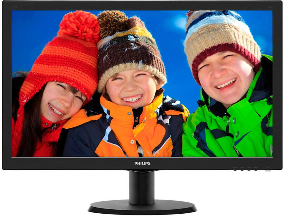"Монитор 23.6"" Philips 243V5LHAB LED FHD 1920x1080"