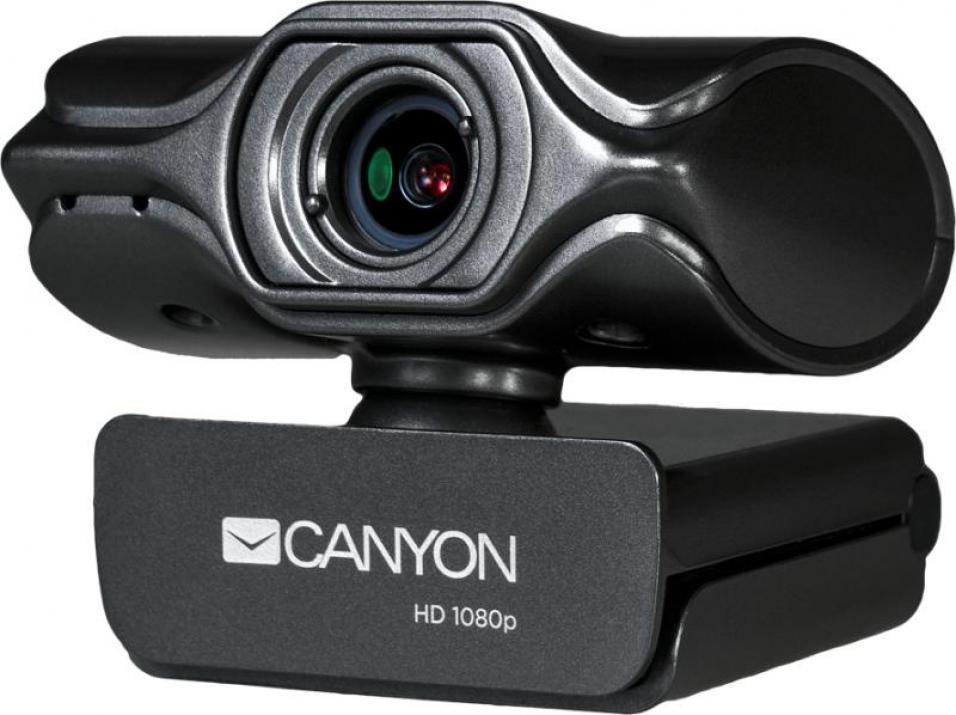 2K Ultra Full HD 3.2 Mpixel Webcam Canyon with USB2.0 connector (CNS-CWC6)