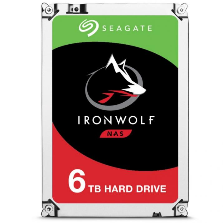 Теърд диск SEAGATE 6TB IronWolf NAS ST6000VN0033