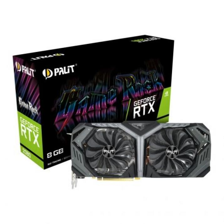 Видео Карта Palit RTX 2080 GAMEROCK 8GB