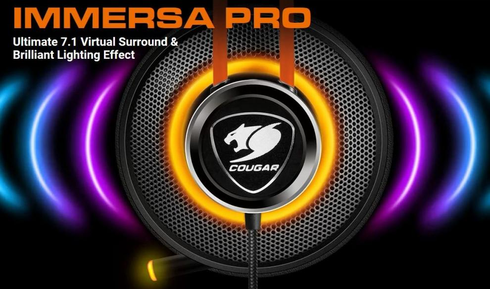 Cougar Immersa Pro