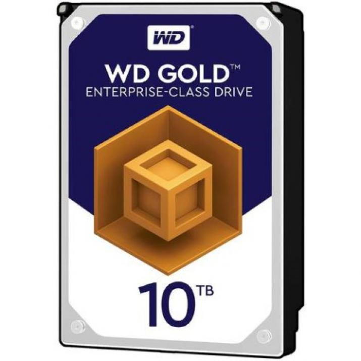 Твърд диск WD Gold 10TB 7200rpm 256MB for servers (5 years warranty)
