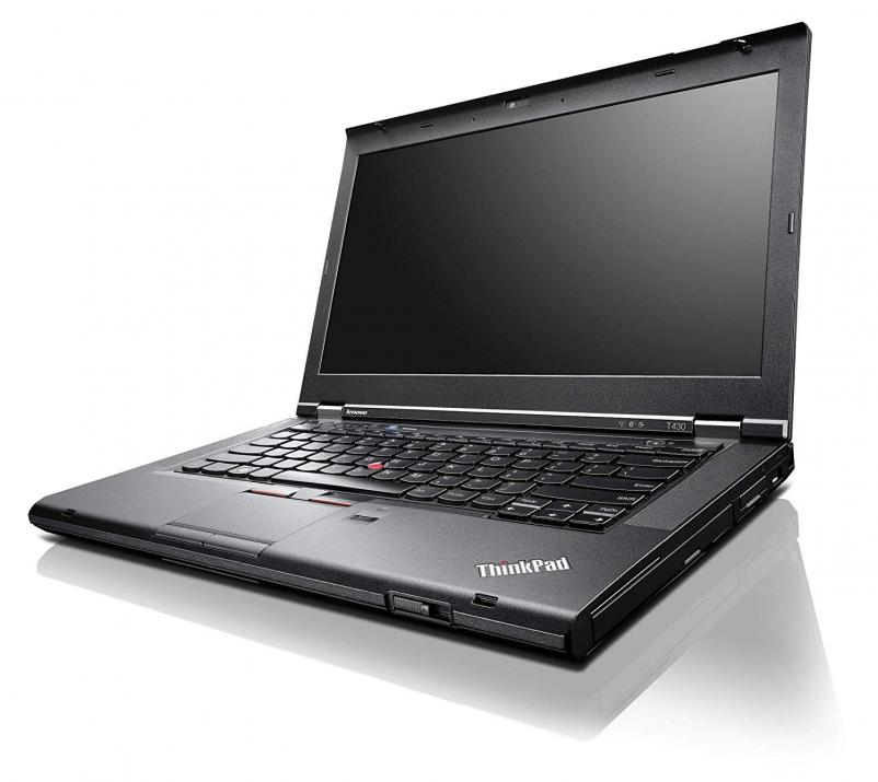 "UPGRADED Lenovo ThinkPad T430, 14.0"", 1366x768, i5-3320M, 16 GB, 320GB HDD, Cam"