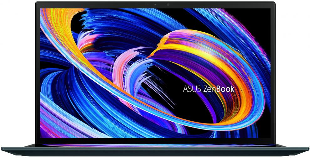 """Asus ZenBook Duo 14 UX482EA-EVO-WB513T, 14"""" FHD IPS Touch, i5-1135G7, 16GB, 512GB SSD, Win 10 Home, Green   90NB0S41-M02400 1"""
